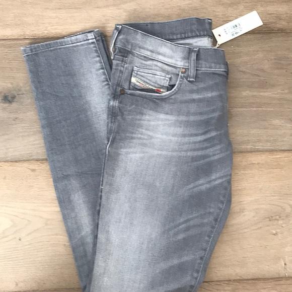 1da6b489 Diesel Jeans | Grey Grupee Skinny Size 29 | Poshmark